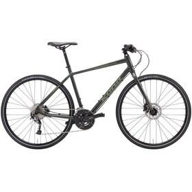Kona Dew Deluxe Hybridcykel 2017 grøn